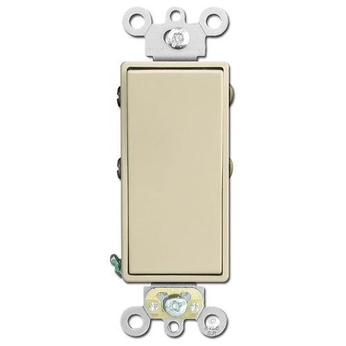 4-Way Decora Electrical Rocker Switch Leviton 20A - Ivory