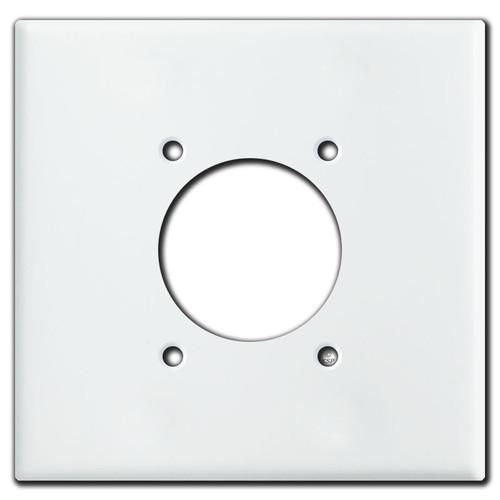 Jumbo Range Dryer 2.125'' 30/50/60A Power Outlet Cover - White