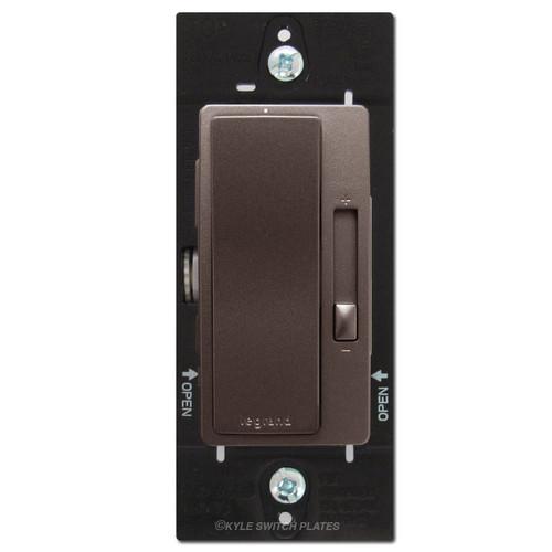 Dark Bronze Fan Speed Control Switch - S/P or 3-Way Legrand