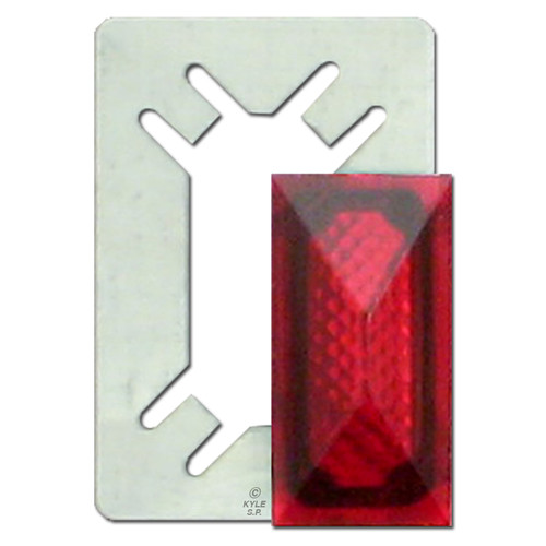 Toggle Pilot Light Jewel - Red