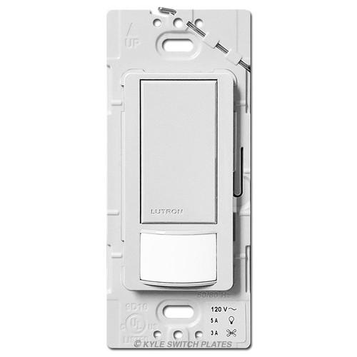 Occupancy Vacancy Sensor Switch Multi-Location Lutron - White