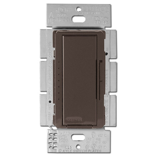CFL LED Digital Dimmer Lutron Maestro Multi-Location 150W - Brown