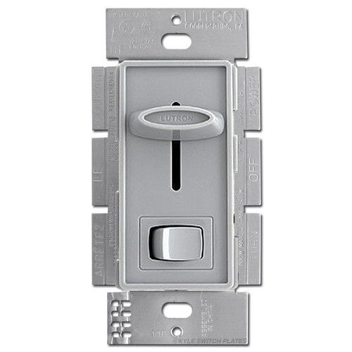 CFL LED Slide On Off Dimmer Switch Lutron - Gray