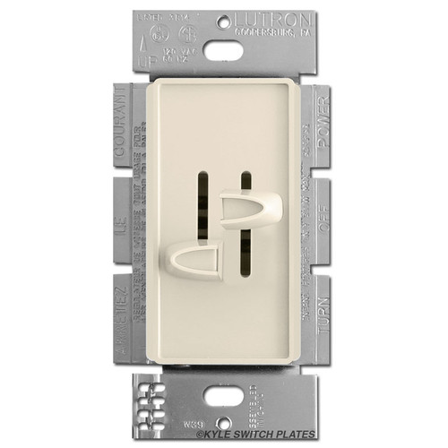 Lutron Skylark Dual Dimming Switch - Light Almond