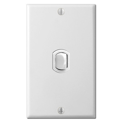1 Vertical Low Voltage Despard Sierra Switch Cover Set - White