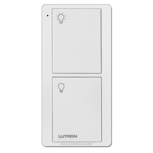 Lutron Pico On/Off Remote Control PJ2-2B-GWH-L01 White