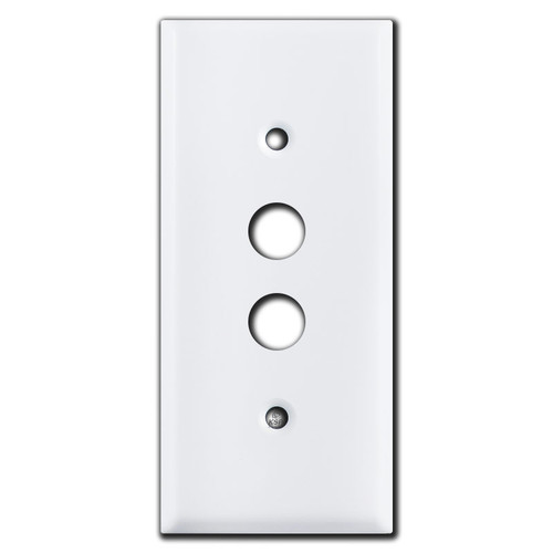 Smaller Covers for Single Push Buttons