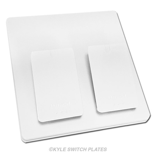 Lutron Pico Tabletop Stand for 2 Wireless Remotes - White L-PED2