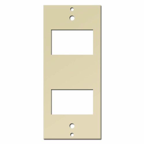 2-Switch GE New Style Low Voltage Insert - Ivory