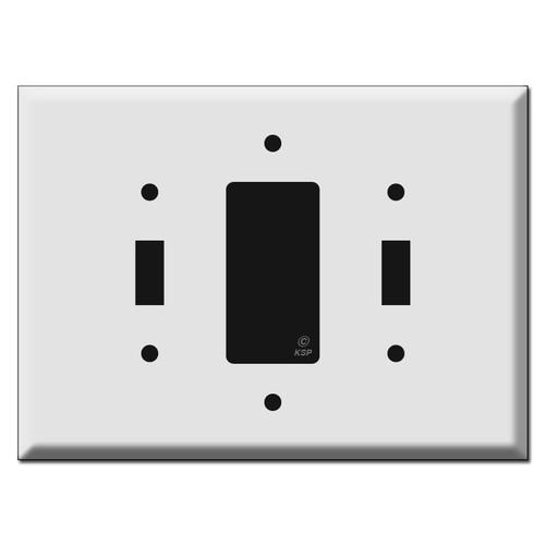 Oversized Toggle Decora Toggle Wall Switch Plates