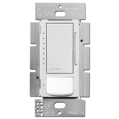 Occupancy Vacancy Dimmer Single Pole or 3 Way - White MSCL-OP153M-WH