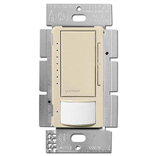 Occupancy Vacancy Sensing Dimmer S/P or 3 Way - Ivory