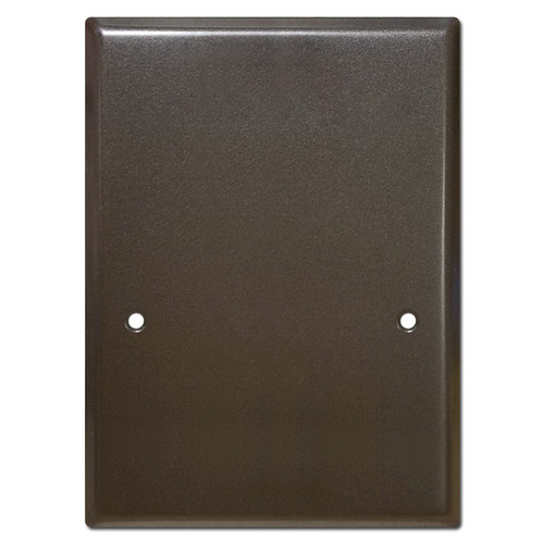 Exterior NuTone Skoville Intercom Voice Station Box Cover - Bronze