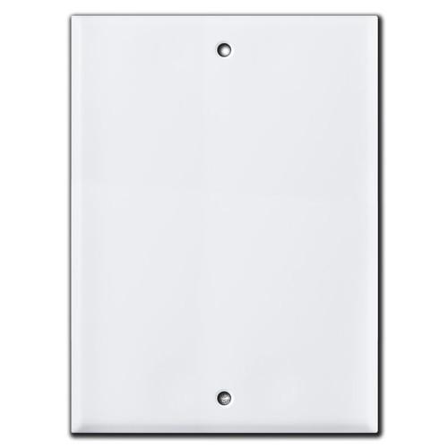 Blank 7.5'' Patio Speaker Cover for Wall Intercom Box - 6.25'' Screws
