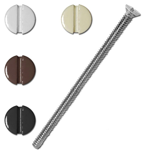 3'' Long Screws for Electrical Wall Switch Plates