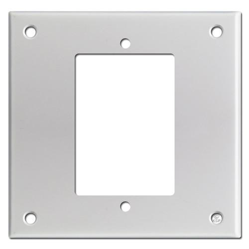 Specialty Doorbell Intercom Speaker Cover 2-Gang Mount