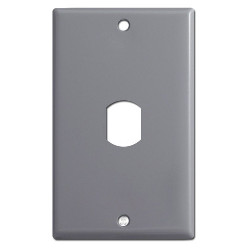 Vertical 1 Despard Switch Face Plate - Gray