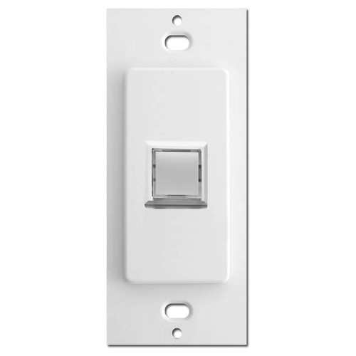Touch-Plate Low Voltage Innova 1 LED Light Switch Control - White