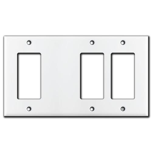 Decora Blank Decora Decora Switch Wall Plate - White
