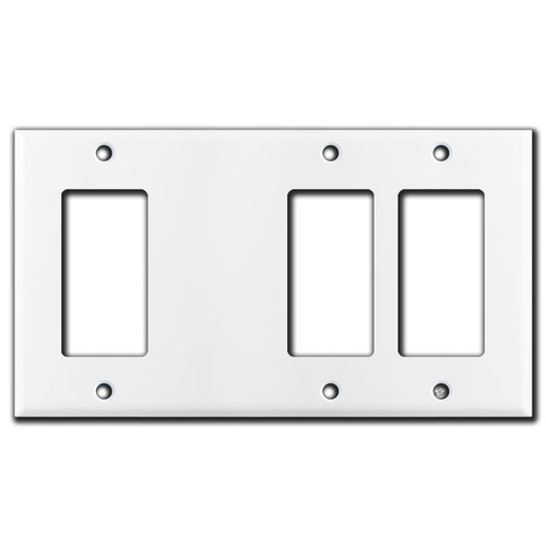 Combo 2 Rocker/GFCI 1 Blank 1 Rocker/GFCI Switch Outlet Covers