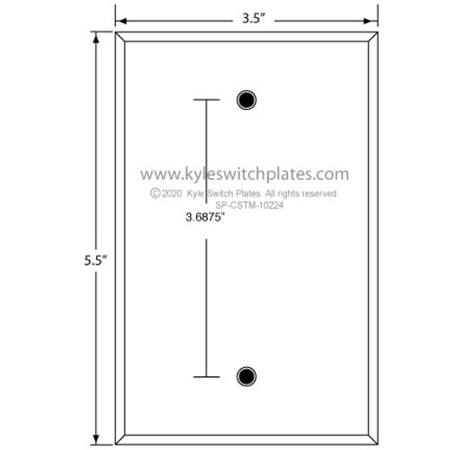 Custom Wall Switch Plate SP-CSTM-10224