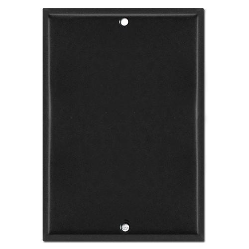 "6.4"" Blank Doorbell Camera Wall Plate - 5.7"" Screw Spread"
