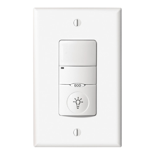 GE Low Voltage Occupancy Sensing Wall Switch - White