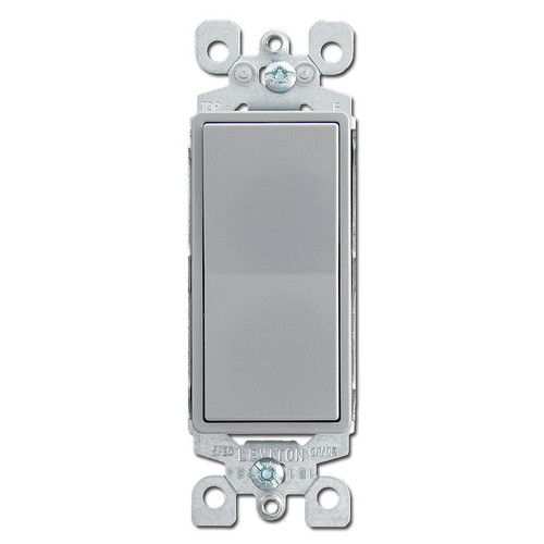Gray 15 Amps Decora Rocker Switches
