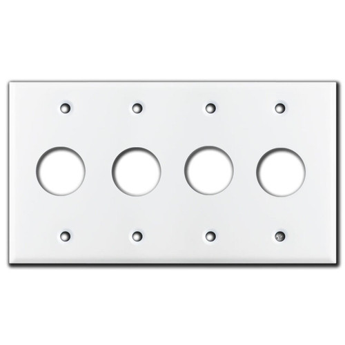 Honeywell 4-Gang Tap-Lite 1-3/16'' Push Button Switch Covers
