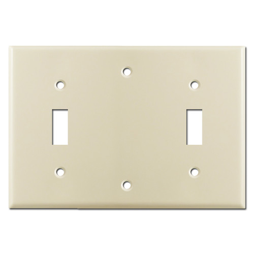 Toggle Blank Toggle Light Switch Cover - Ivory