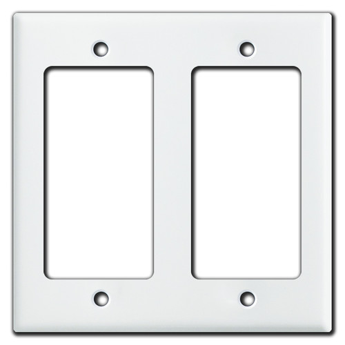 4x4 Inch Small 2 Rocker Switch Plate Covers