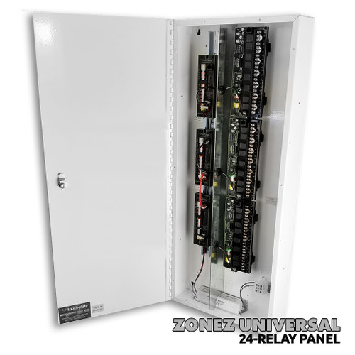 Low Voltage Touch-Plate 24-Relay Universal ZoneZ Control Panel