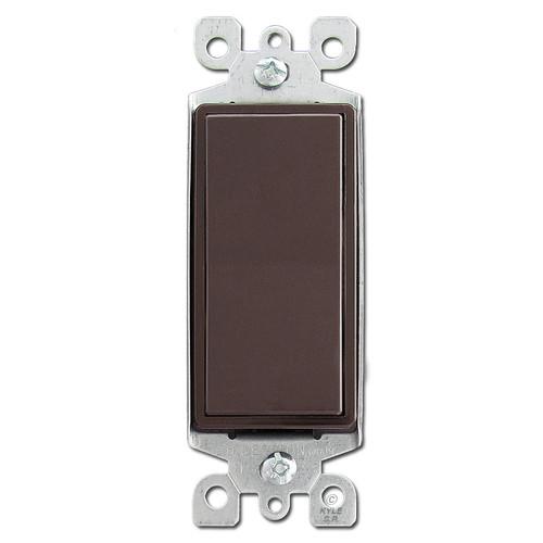 Brown 4 Way Decora Rocker Switch