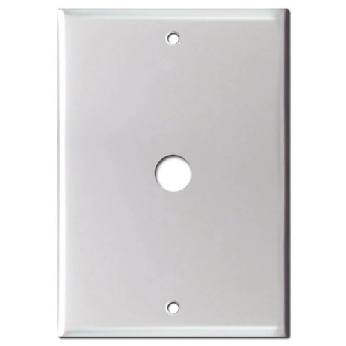 "6.4"" Doorbell Camera Cover with Hole for 5.37"" Screw Spread Box"