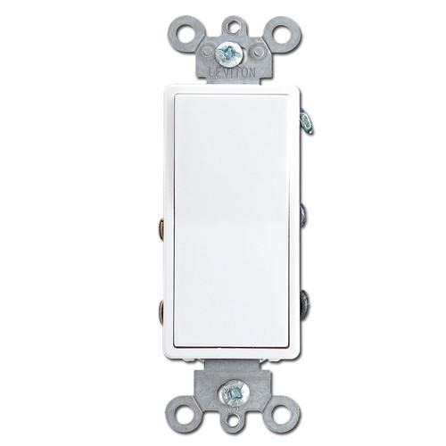 White 4-Way Decora Rocker Light Switches