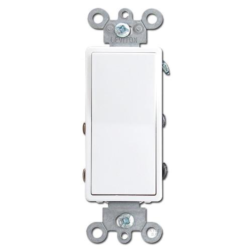 4 Way Illuminated White Decora Rocker Light Switch