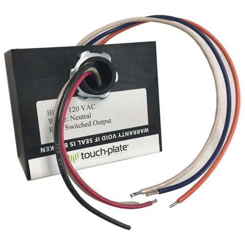 Touchplate Low Voltage Powered Relay Pack - Nipple Mount