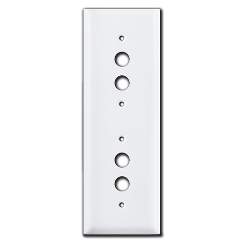 Tandem Stacked 2 Push Button Light Switch Covers