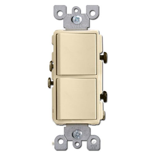 Ivory 2 Decora Rocker Switch