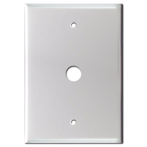 """Doorbell Station Wall Box Cover 6.4"""" + Hole 4.63"""" Screws"""