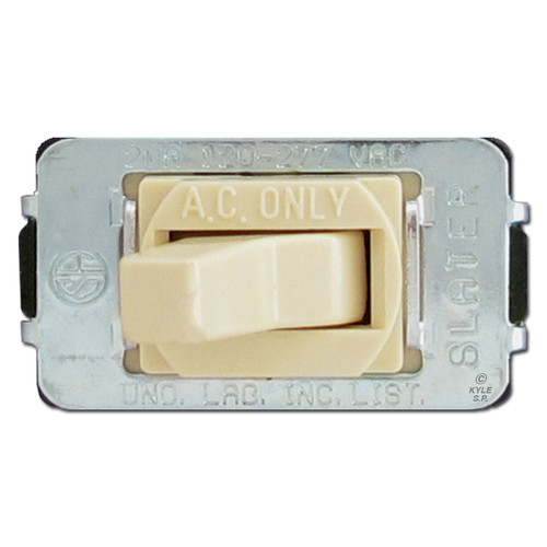 20 Amp Ivory Despard Toggle Switch