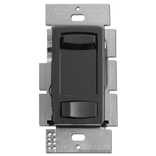 Black Skylark Slide Dimmer Switches for LED & CFL Dimming Bulbs
