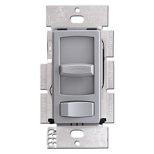 Gray Lutron Skylark Dimming Switch for LED and CFL Bulbs