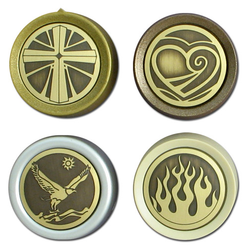 Decorative Brass Rotary Dimmer Knobs - choose a design