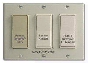 Almond vs Ivory