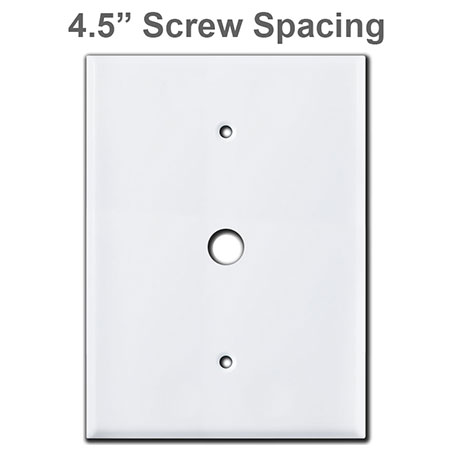 Plates with 4.5 Screw Spacing