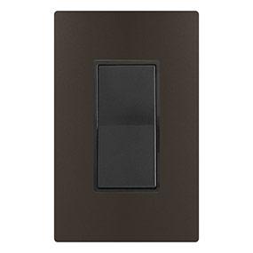 Black & Metallic Dark Bronze