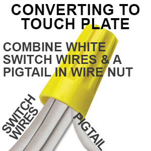 Comine Wires in Wire Nut With Pictail Wire