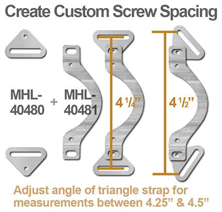 Custom Screw Spacing