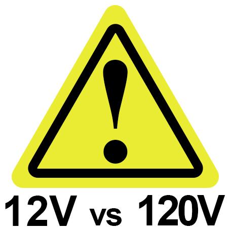 Low Voltage Lighting is Safer